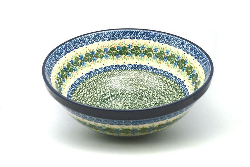"Ceramika Artystyczna Polish Pottery Bowl - Grand Nesting (10 3/4"") - Ivy Trail 055-1898a (Ceramika Artystyczna)"