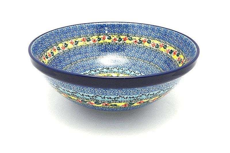 "Ceramika Artystyczna Polish Pottery Bowl - Grand Nesting (10 3/4"") - Unikat Signature U4512 055-U4512 (Ceramika Artystyczna)"