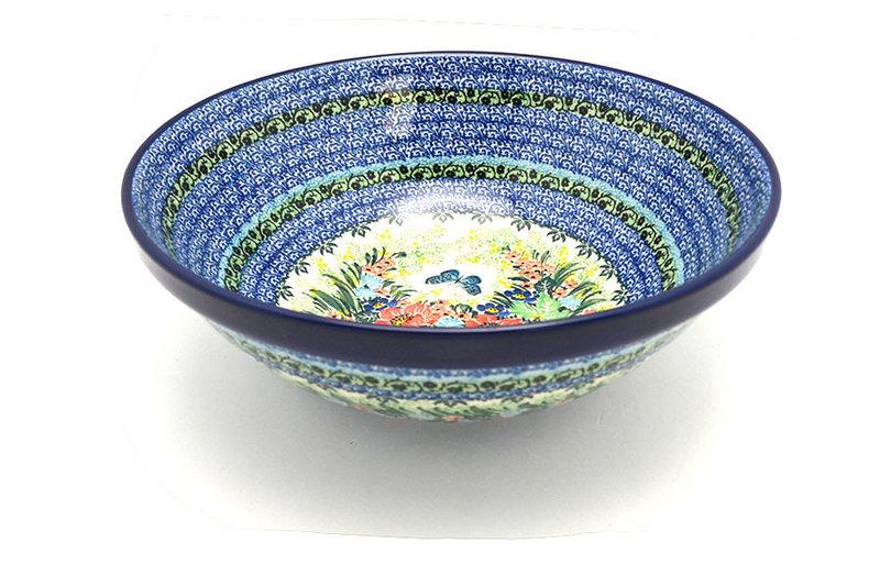 "Ceramika Artystyczna Polish Pottery Bowl - Grand Nesting (10 3/4"") - Unikat Signature U4553 055-U4553 (Ceramika Artystyczna)"