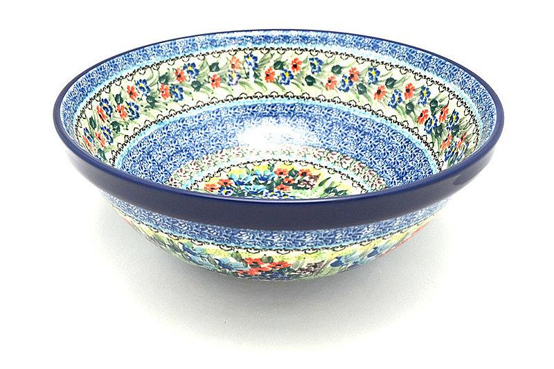 "Ceramika Artystyczna Polish Pottery Bowl - Grand Nesting (10 3/4"") - Unikat Signature U4558 055-U4558 (Ceramika Artystyczna)"