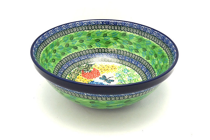 "Ceramika Artystyczna Polish Pottery Bowl - Grand Nesting (10 3/4"") - Unikat Signature U4612 055-U4612 (Ceramika Artystyczna)"