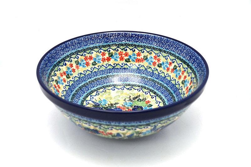 "Ceramika Artystyczna Polish Pottery Bowl - Grand Nesting (10 3/4"") - Unikat Signature U4695 055-U4695 (Ceramika Artystyczna)"