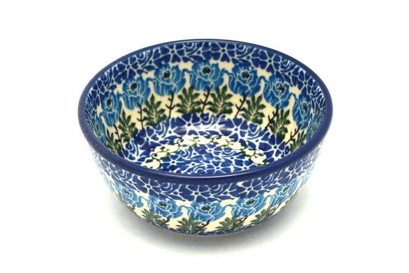 Ceramika Artystyczna Polish Pottery Bowl - Ice Cream/Dessert - Antique Rose 017-1390a (Ceramika Artystyczna)