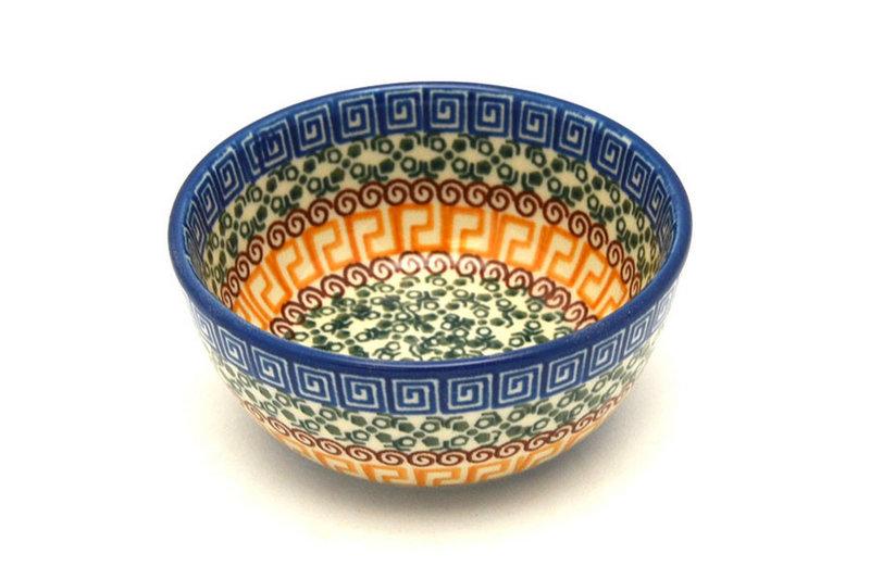 Ceramika Artystyczna Polish Pottery Bowl - Ice Cream/Dessert - Autumn 017-050a (Ceramika Artystyczna)
