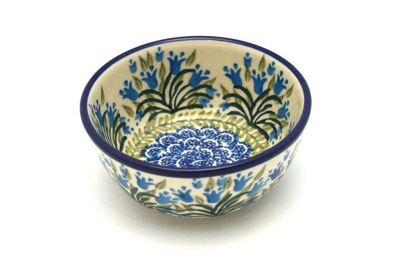 Ceramika Artystyczna Polish Pottery Bowl - Ice Cream/Dessert - Blue Bells 017-1432a (Ceramika Artystyczna)