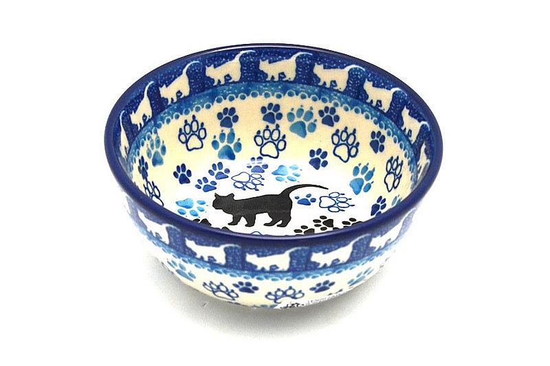 Polish Pottery Bowl - Ice Cream/Dessert - Boo Boo Kitty