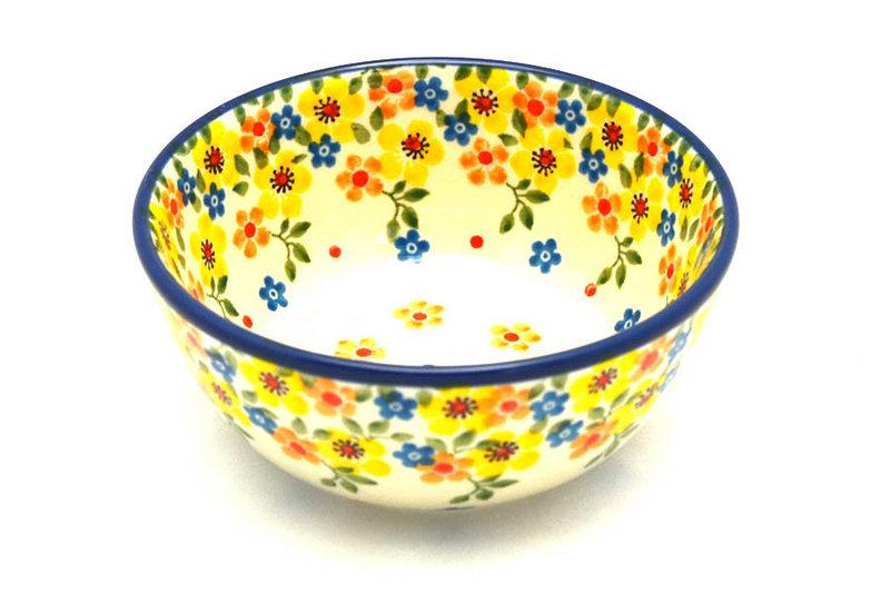 Ceramika Artystyczna Polish Pottery Bowl - Ice Cream/Dessert - Buttercup 017-2225a (Ceramika Artystyczna)
