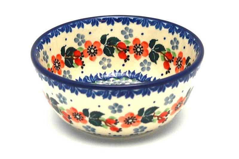 Ceramika Artystyczna Polish Pottery Bowl - Ice Cream/Dessert - Cherry Blossom 017-2103a (Ceramika Artystyczna)