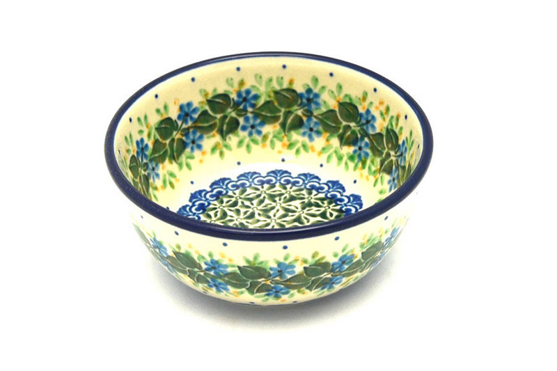 Ceramika Artystyczna Polish Pottery Bowl - Ice Cream/Dessert - Ivy Trail 017-1898a (Ceramika Artystyczna)