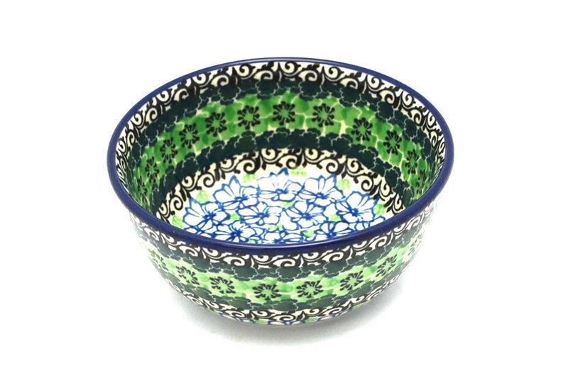 Ceramika Artystyczna Polish Pottery Bowl - Ice Cream/Dessert - Kiwi 017-1479a (Ceramika Artystyczna)