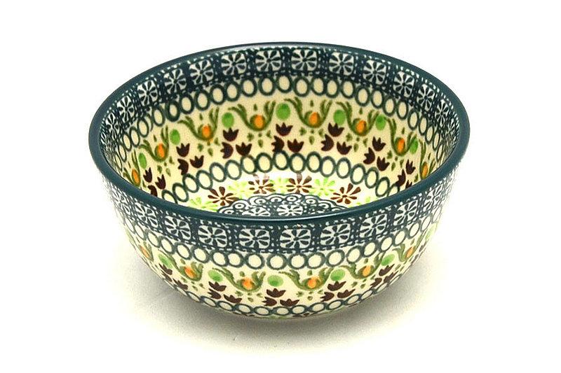 Ceramika Artystyczna Polish Pottery Bowl - Ice Cream/Dessert - Mint Chip 017-2195q (Ceramika Artystyczna)