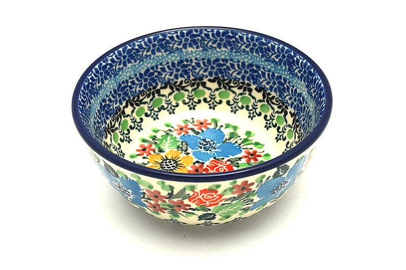 Ceramika Artystyczna Polish Pottery Bowl - Ice Cream/Dessert - Unikat Signature U3347 017-U3347 (Ceramika Artystyczna)