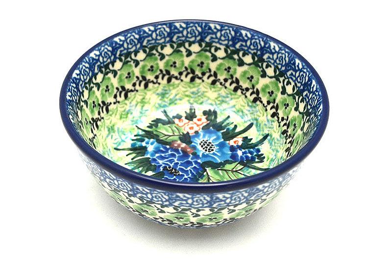Ceramika Artystyczna Polish Pottery Bowl - Ice Cream/Dessert - Unikat Signature U4572 017-U4572 (Ceramika Artystyczna)