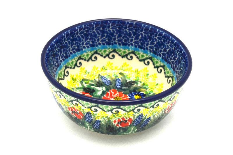 Ceramika Artystyczna Polish Pottery Bowl - Ice Cream/Dessert - Unikat Signature U4610 017-U4610 (Ceramika Artystyczna)