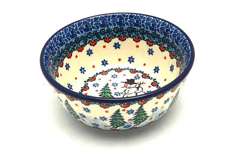 Ceramika Artystyczna Polish Pottery Bowl - Ice Cream/Dessert - Unikat Signature U4661 017-U4661 (Ceramika Artystyczna)