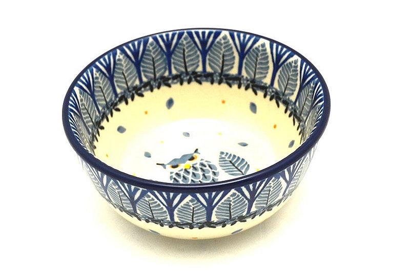 Ceramika Artystyczna Polish Pottery Bowl - Ice Cream/Dessert - Unikat Signature U4873 017-U4873 (Ceramika Artystyczna)