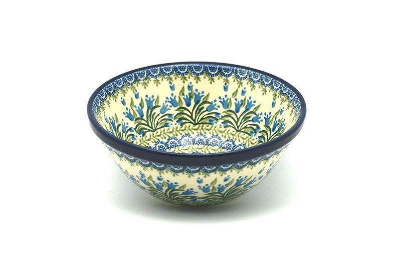 "Ceramika Artystyczna Polish Pottery Bowl - Large Nesting (7 1/2"") - Blue Bells 057-1432a (Ceramika Artystyczna)"