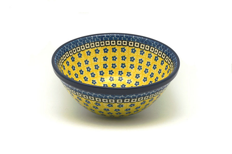 "Ceramika Artystyczna Polish Pottery Bowl - Large Nesting (7 1/2"") - Sunburst 057-859a (Ceramika Artystyczna)"