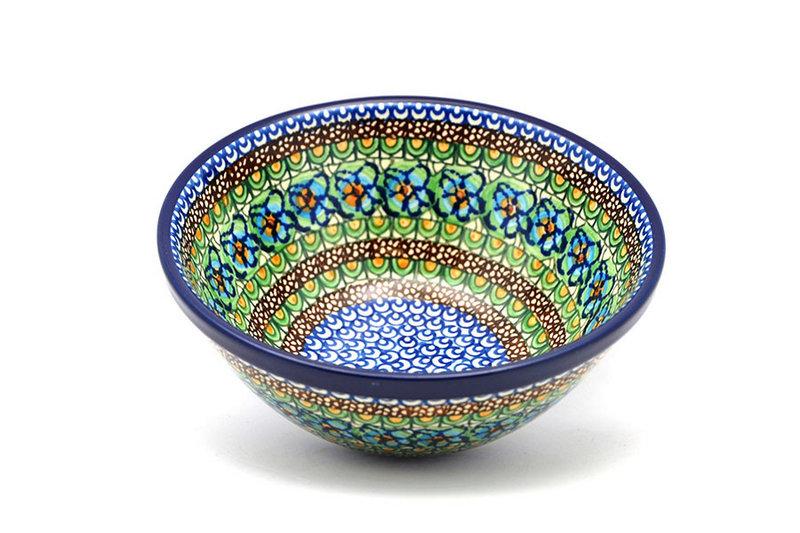 """Ceramika Artystyczna Polish Pottery Bowl - Large Nesting (7 1/2"""") - Unikat Signature U151 057-U0151 (Ceramika Artystyczna)"""