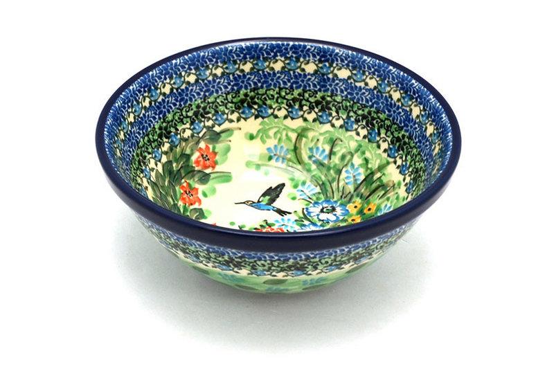 """Ceramika Artystyczna Polish Pottery Bowl - Large Nesting (7 1/2"""") - Unikat Signature U3271 057-U3271 (Ceramika Artystyczna)"""