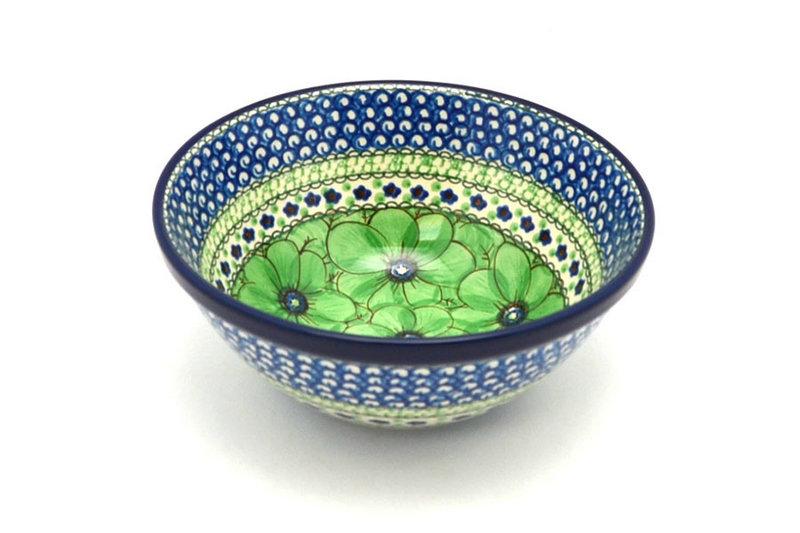 "Ceramika Artystyczna Polish Pottery Bowl - Large Nesting (7 1/2"") - Unikat Signature U408A 057-U408A (Ceramika Artystyczna)"