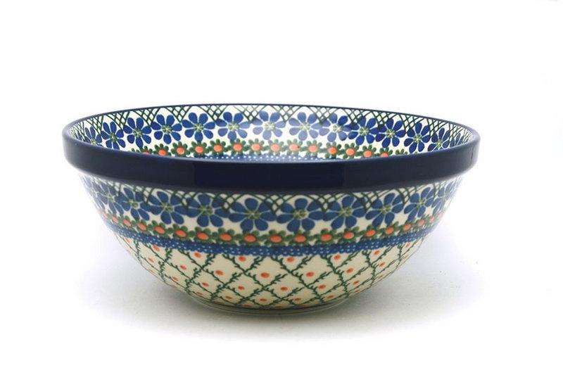 "Ceramika Artystyczna Polish Pottery Bowl - Larger Nesting (9"") - Primrose 056-854a (Ceramika Artystyczna)"