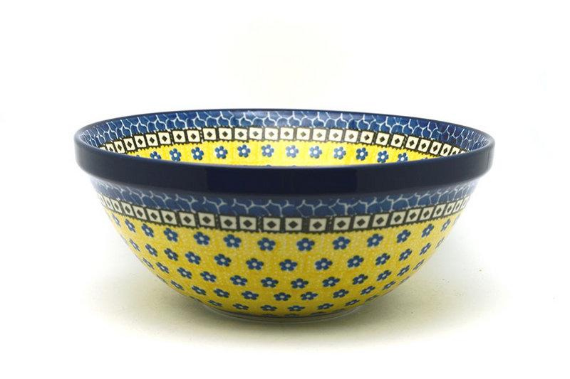 "Ceramika Artystyczna Polish Pottery Bowl - Larger Nesting (9"") - Sunburst 056-859a (Ceramika Artystyczna)"