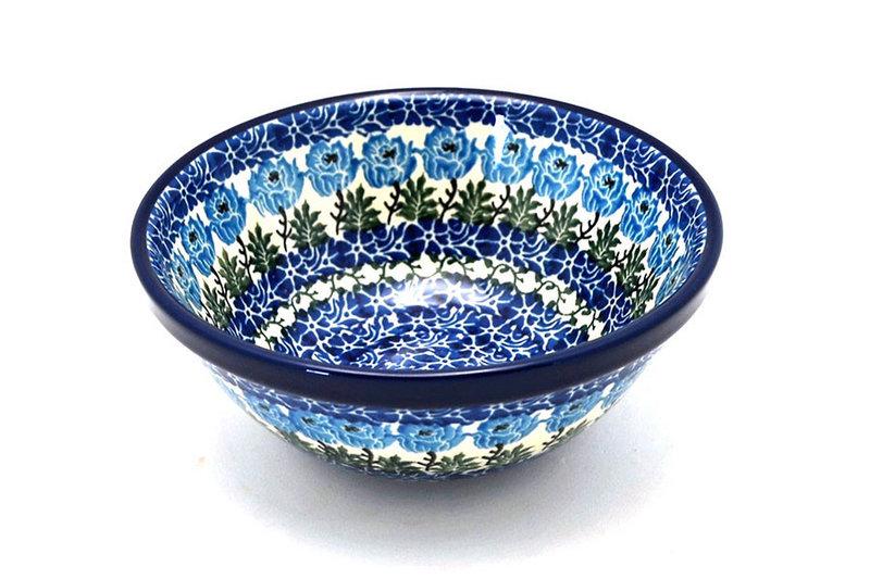"Ceramika Artystyczna Polish Pottery Bowl - Medium Nesting (6 1/2"") - Antique Rose 058-1390a (Ceramika Artystyczna)"