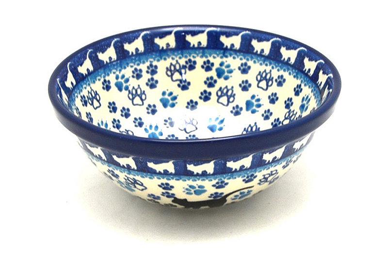 "Ceramika Artystyczna Polish Pottery Bowl - Medium Nesting (6 1/2"") - Boo Boo Kitty 058-1771a (Ceramika Artystyczna)"
