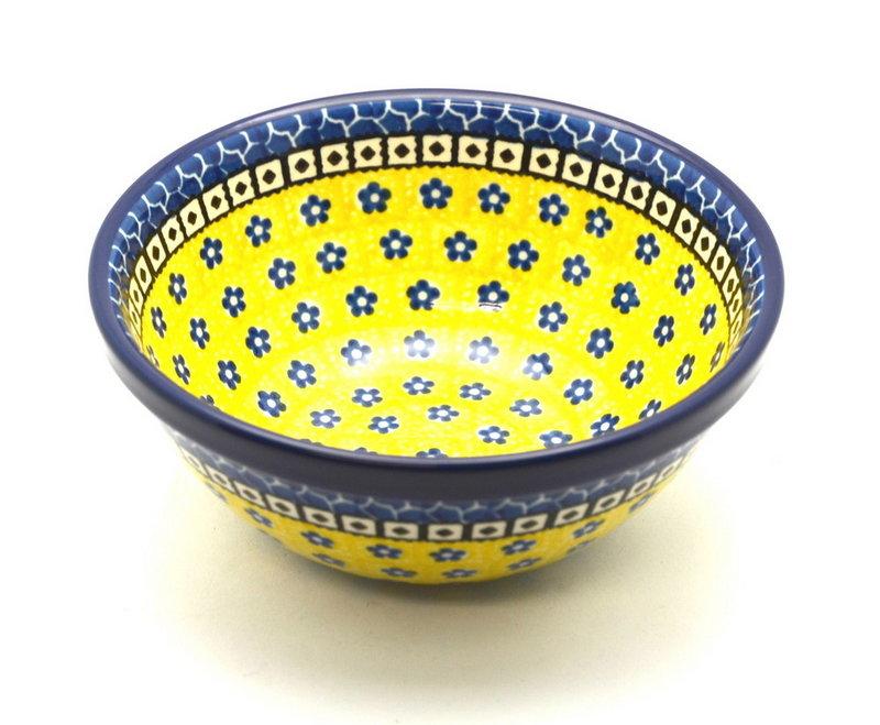 """Ceramika Artystyczna Polish Pottery Bowl - Medium Nesting (6 1/2"""") - Sunburst 058-859a (Ceramika Artystyczna)"""