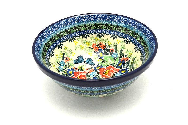 "Ceramika Artystyczna Polish Pottery Bowl - Medium Nesting (6 1/2"") - Unikat Signature - U4553 058-U4553 (Ceramika Artystyczna)"