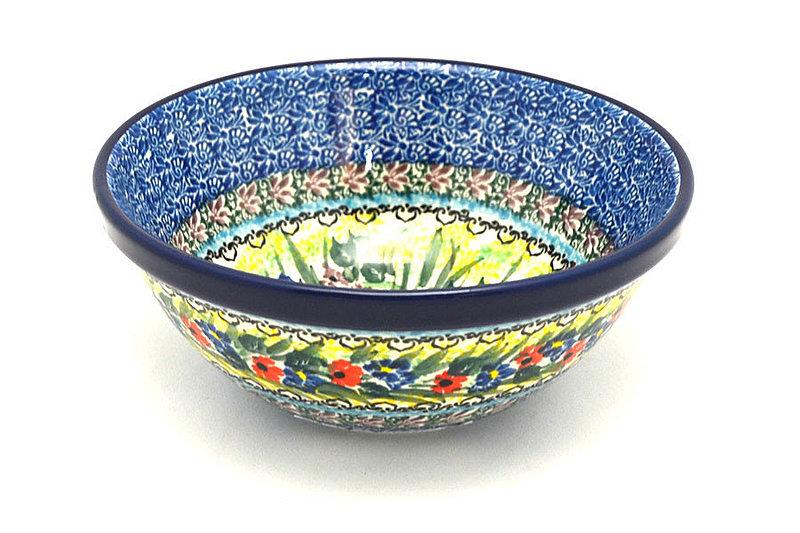 "Ceramika Artystyczna Polish Pottery Bowl - Medium Nesting (6 1/2"") - Unikat Signature - U4558 058-U4558 (Ceramika Artystyczna)"