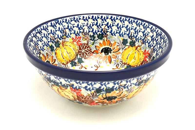 "Ceramika Artystyczna Polish Pottery Bowl - Medium Nesting (6 1/2"") - Unikat Signature - U4741 058-U4741 (Ceramika Artystyczna)"