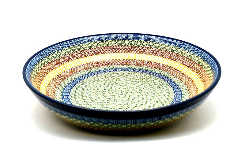 Ceramika Artystyczna Polish Pottery Bowl - Pasta Serving - Large - Autumn 115-050a (Ceramika Artystyczna)