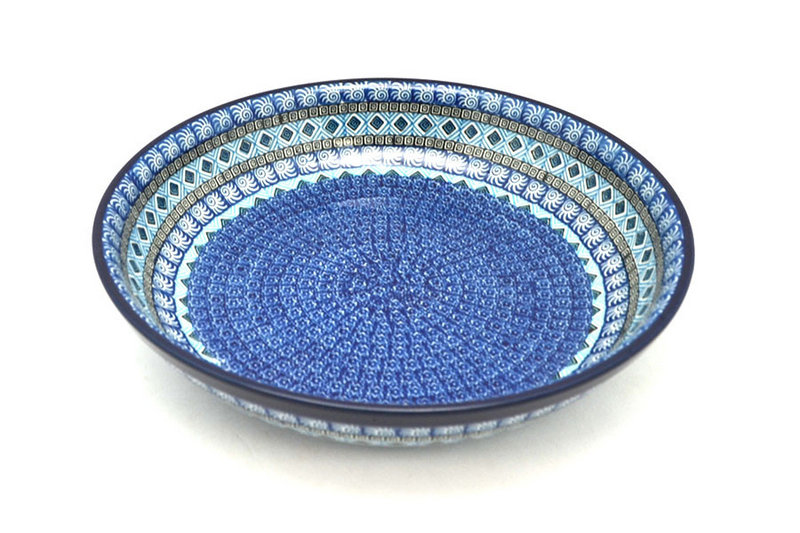 Ceramika Artystyczna Polish Pottery Bowl - Pasta Serving - Large - Aztec Sky 115-1917a (Ceramika Artystyczna)