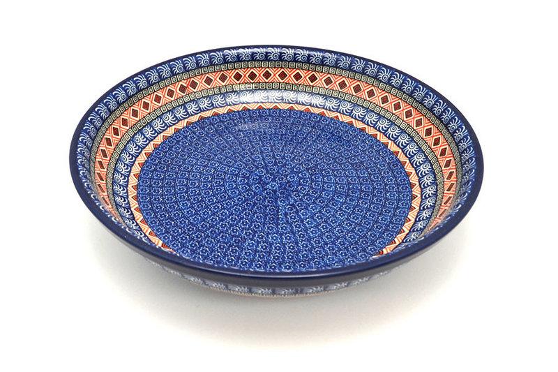 Ceramika Artystyczna Polish Pottery Bowl - Pasta Serving - Large - Aztec Sun 115-1350a (Ceramika Artystyczna)