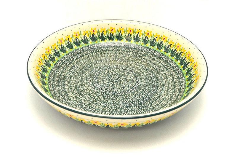 Ceramika Artystyczna Polish Pottery Bowl - Pasta Serving - Large - Daffodil 115-2122q (Ceramika Artystyczna)