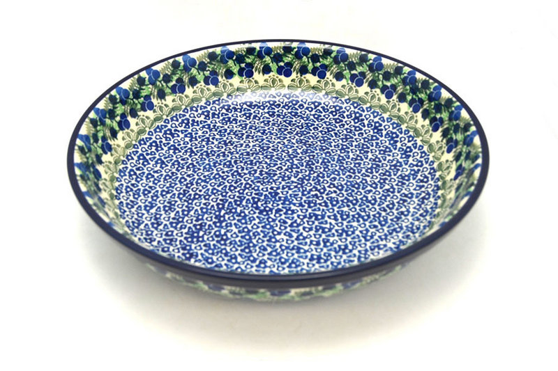 Ceramika Artystyczna Polish Pottery Bowl - Pasta Serving - Large - Huckleberry 115-1413a (Ceramika Artystyczna)