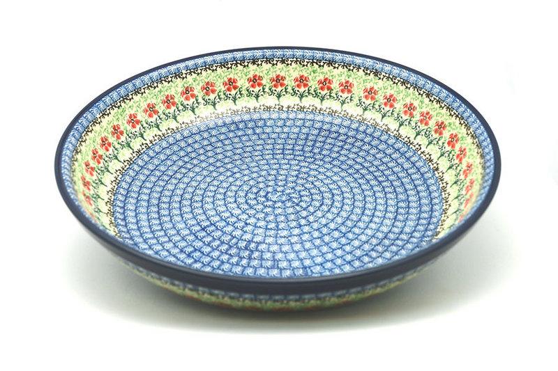 Ceramika Artystyczna Polish Pottery Bowl - Pasta Serving - Large - Maraschino 115-1916a (Ceramika Artystyczna)
