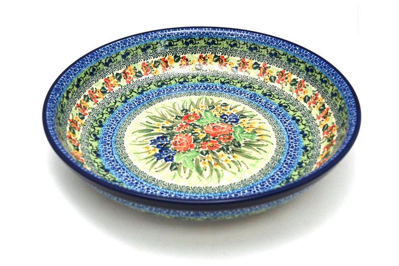 Ceramika Artystyczna Polish Pottery Bowl - Pasta Serving - Large - Unikat Signature U4400 115-U4400 (Ceramika Artystyczna)