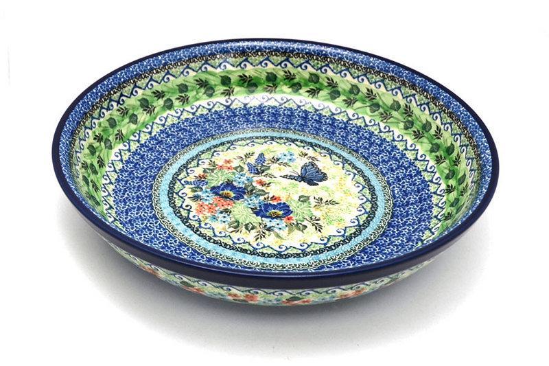 Ceramika Artystyczna Polish Pottery Bowl - Pasta Serving - Large - Unikat Signature U4600 115-U4600 (Ceramika Artystyczna)