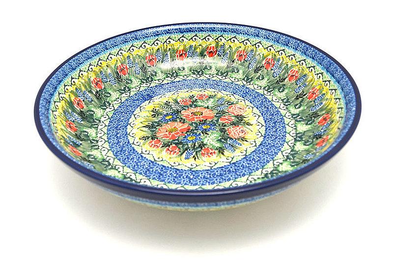 Ceramika Artystyczna Polish Pottery Bowl - Pasta Serving - Large - Unikat Signature U4610 115-U4610 (Ceramika Artystyczna)