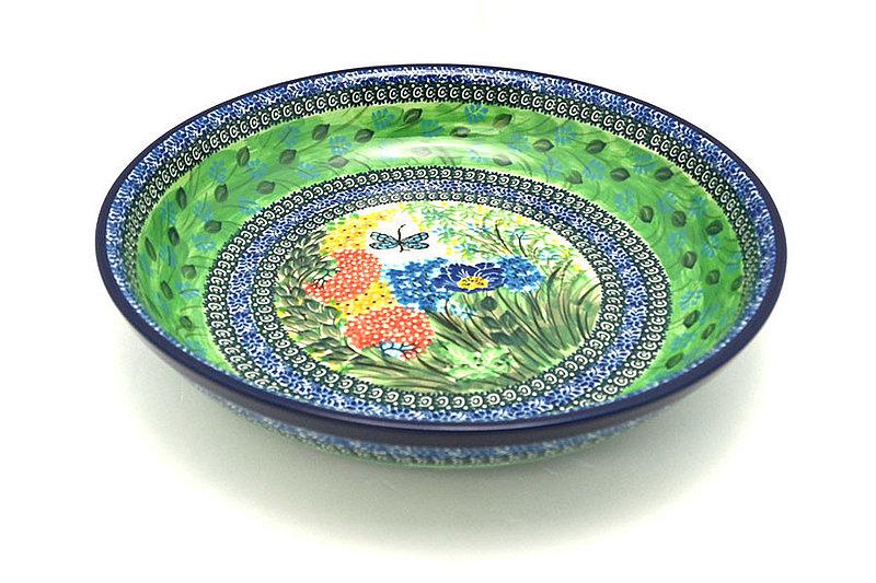 Ceramika Artystyczna Polish Pottery Bowl - Pasta Serving - Large - Unikat Signature U4612 115-U4612 (Ceramika Artystyczna)