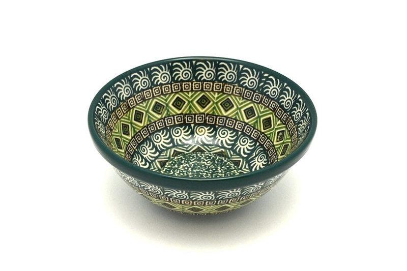 """Ceramika Artystyczna Polish Pottery Bowl - Small Nesting (5 1/2"""") - Aztec Forest 059-1919q (Ceramika Artystyczna)"""