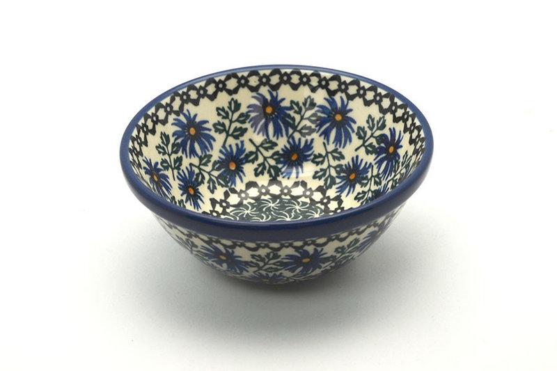 "Polish Pottery Bowl - Small Nesting (5 1/2"") - Blue Chicory"