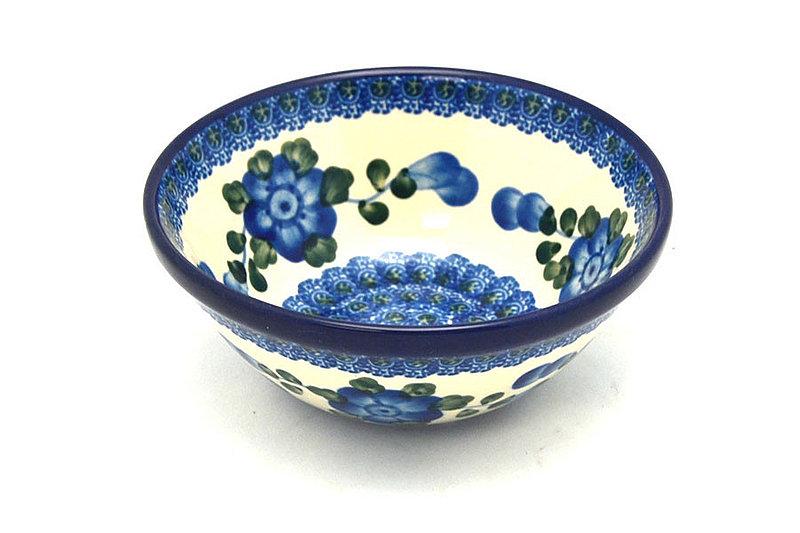 """Ceramika Artystyczna Polish Pottery Bowl - Small Nesting (5 1/2"""") - Blue Poppy 059-163a (Ceramika Artystyczna)"""