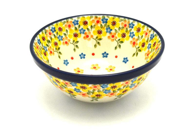 """Ceramika Artystyczna Polish Pottery Bowl - Small Nesting (5 1/2"""") - Buttercup 059-2225a (Ceramika Artystyczna)"""