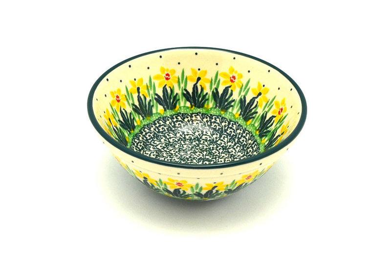 """Ceramika Artystyczna Polish Pottery Bowl - Small Nesting (5 1/2"""") - Daffodil 059-2122q (Ceramika Artystyczna)"""