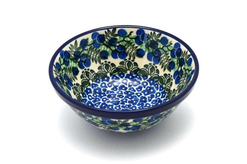 """Ceramika Artystyczna Polish Pottery Bowl - Small Nesting (5 1/2"""") - Huckleberry 059-1413a (Ceramika Artystyczna)"""