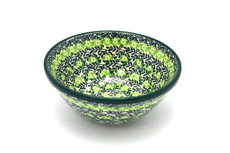 """Ceramika Artystyczna Polish Pottery Bowl - Small Nesting (5 1/2"""") - Irish Meadow 059-1888q (Ceramika Artystyczna)"""
